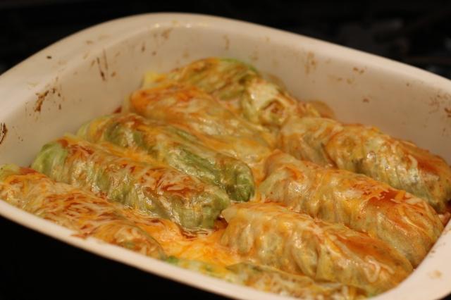 Paleo Beef Cabbage Rolls